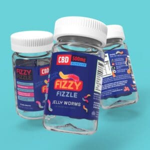 Fizzy Fizzle CBD Jelly Worms