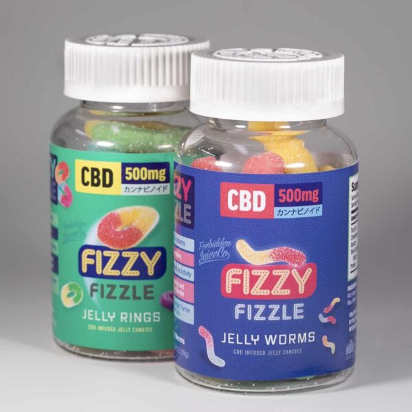 Fizzy Fizzle CBD Jelly Candies